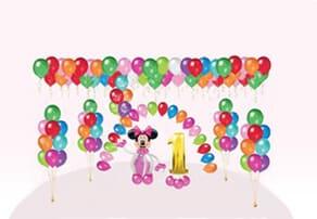 оформление шарами детских вечеринок