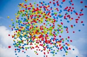 доставка шаров для запуска