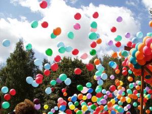 Доставка шаров при подготовке к любому празднику