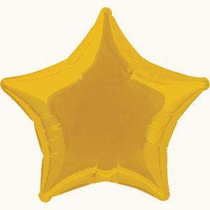 Новогоднее украшение зала шарами в виде звезды