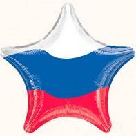оформление зала на 23 февраля звезда в виде триколора