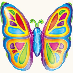 Оформление зала на 8 марта яркая бабочка