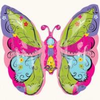 Оформление зала на 8 марта садовая бабочка
