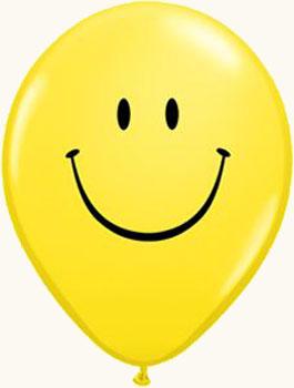 украшение на праздник шар улыбка