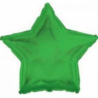 Оформление зала шар в виде звезды зеленый