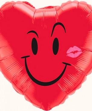 Оформление зала на 8 марта сердце с улыбкой