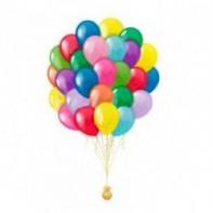 оформление зала на 23 февраля ассорти пастель 50 шаров