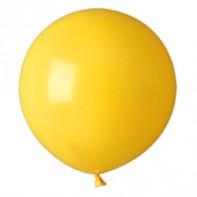шары желтые, пастель