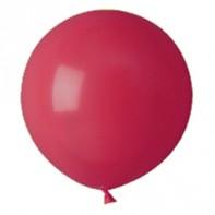 шары красные, пастель