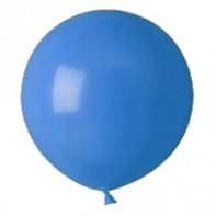 шары синие, пастель