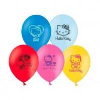 Украшение на праздник шар с рисунком Helloy Kitty