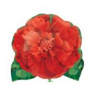 Оформление на 8 марта фигура цветок красный
