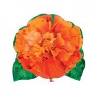 Оформление зала на 8 марта оранжевым цветком