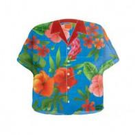 Шары в виде гавайской рубашки на школьный праздник
