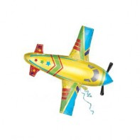 Оформление зала шар в виде самолета