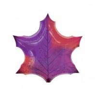 Шар для оформления зала кленовый лист